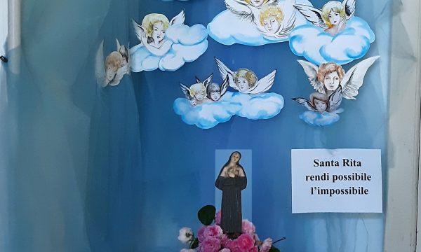 In onore di Santa Rita a Palese da una devota