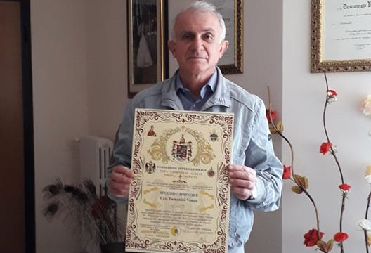 Un palesino insignito di una prestigiosa onorificenza internazionale