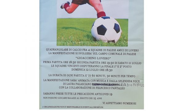 Terzo Torneo di calcio Gioacchino Lovero