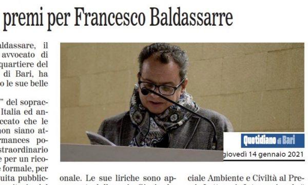 Pioggia di premi per Francesco Baldassarre