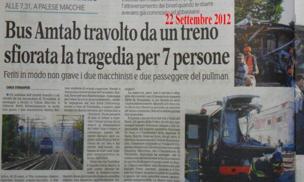 Recovery Fund – 1 Miliardo di Euro per sicurezza ferroviaria niente per 5°Municipio nei 167 progetti della Regione